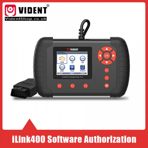 Extra Software for VIDENT iLink400 Full System Single Make Scan tool