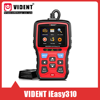[Ship from UK/EU No Tax] VIDENT iEasy310 Enhanced OBDII/EOBD+CAN Code Reader